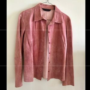 Used Express Pink Genuine Soft Leather.7/8 M